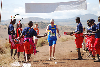 Lewa Safari Marathon Water Station